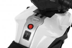 MMotocicleta electrica cu 2 roti Premier Rider, 6V, muzica, roti ajutatoare5
