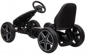 Kart Premier Mercedes cu pedale pentru copii, roti cauciuc Eva2