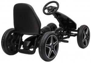 Kart Premier Mercedes cu pedale pentru copii, roti cauciuc Eva4