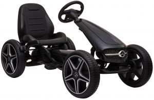 Kart Premier Mercedes cu pedale pentru copii, roti cauciuc Eva3