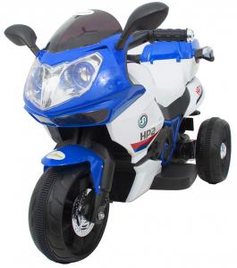 Motocicleta electrica cu 3 roti Premier HP2, 6V, 2 motoare, MP3, albastru1