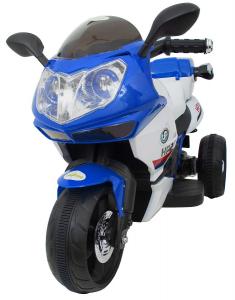 Motocicleta electrica cu 3 roti Premier HP2, 6V, 2 motoare, MP3, albastru3