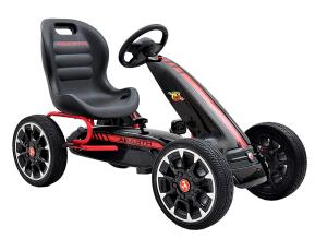 Kart Abarth negru cu pedale pentru copii [1]