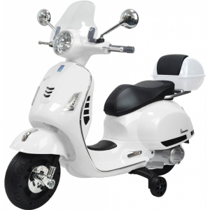 Scooter electric cu 2 roti Premier Vespa GTS Super, 12V, MP3, roti ajutatoare0