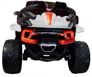 Masinuta electrica 4x4 Premier D-Max, 12V, roti cauciuc EVA, scaun piele ecologica2