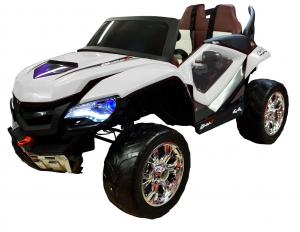 Masinuta electrica 4x4 Premier D-Max, 12V, roti cauciuc EVA, scaun piele ecologica0