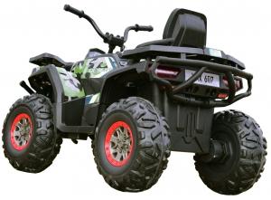 ATV electric 4x4 Premier Desert, 12V, roti cauciuc EVA, MP34