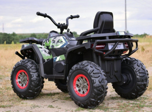 ATV electric 4x4 Premier Desert, 12V, roti cauciuc EVA, MP39