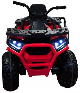 ATV electric 4x4 Premier Desert, 12V, roti cauciuc EVA, MP3, rosu [1]