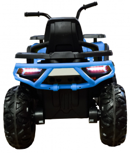 ATV electric 4x4 Premier Desert, 12V, roti cauciuc EVA, MP3, albastru6