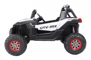 Buggy electric pentru 2 copii Premier 4x4 Superstar, cu 2 baterii, roti cauciuc EVA, scaun piele ecologica19