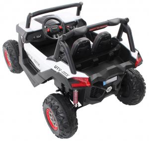 Buggy electric pentru 2 copii Premier 4x4 Superstar, cu 2 baterii, roti cauciuc EVA, scaun piele ecologica23