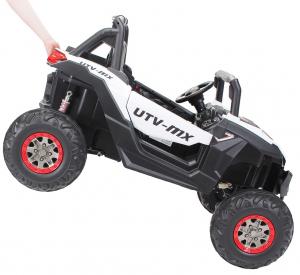 Buggy electric pentru 2 copii Premier 4x4 Superstar, cu 2 baterii, roti cauciuc EVA, scaun piele ecologica20