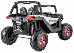 Buggy electric pentru 2 copii Premier 4x4 Superstar, cu 2 baterii, roti cauciuc EVA, scaun piele ecologica26