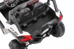 Buggy electric pentru 2 copii Premier 4x4 Superstar, cu 2 baterii, roti cauciuc EVA, scaun piele ecologica22