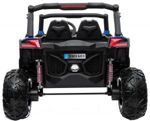Buggy electric pentru 2 copii Premier 4x4 Superstar, MP4, cu 2 baterii, roti cauciuc EVA, scaun piele ecologica24