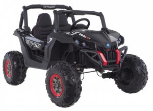 Buggy electric pentru 2 copii Premier 4x4 Superstar, MP4, cu 2 baterii, roti cauciuc EVA, scaun piele ecologica27