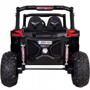Buggy electric pentru 2 copii Premier 4x4 Superstar, MP4, cu 2 baterii, roti cauciuc EVA, scaun piele ecologica31