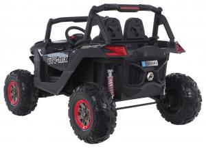 Buggy electric pentru 2 copii Premier 4x4 Superstar, MP4, cu 2 baterii, roti cauciuc EVA, scaun piele ecologica26