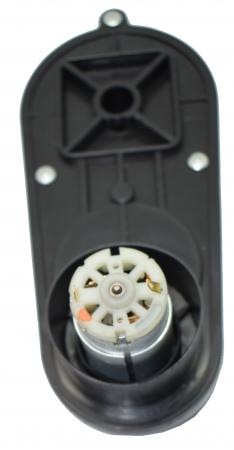 Motor roata cu angrenaj 12V pentru D-Max, model RS390-12V, 15000rpm4