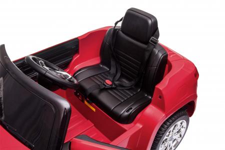 Masinuta electrica Premier Jeep Grand Cherokee, 12V, roti cauciuc EVA, scaun piele ecologica, rosu [22]