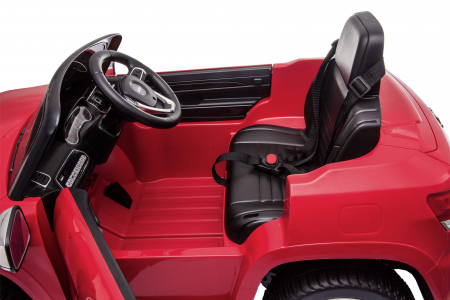 Masinuta electrica Premier Jeep Grand Cherokee, 12V, roti cauciuc EVA, scaun piele ecologica, rosu [23]
