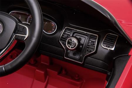 Masinuta electrica Premier Jeep Grand Cherokee, 12V, roti cauciuc EVA, scaun piele ecologica, rosu [30]