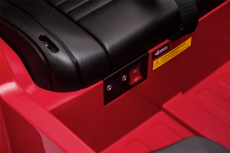 Masinuta electrica Premier Jeep Grand Cherokee, 12V, roti cauciuc EVA, scaun piele ecologica, rosu [32]