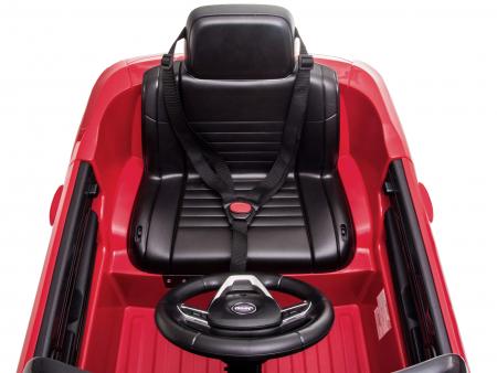 Masinuta electrica Premier Jeep Grand Cherokee, 12V, roti cauciuc EVA, scaun piele ecologica, rosu [34]