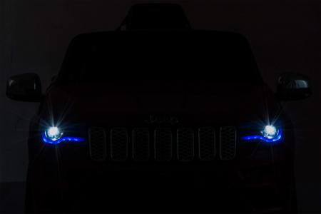 Masinuta electrica Premier Jeep Grand Cherokee, 12V, roti cauciuc EVA, scaun piele ecologica, rosu [36]