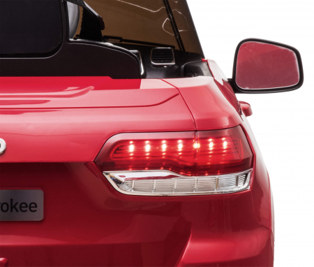 Masinuta electrica Premier Jeep Grand Cherokee, 12V, roti cauciuc EVA, scaun piele ecologica, rosu [38]
