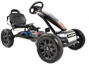 Kart Ford cu pedale pentru copii, roti cauciuc Eva1