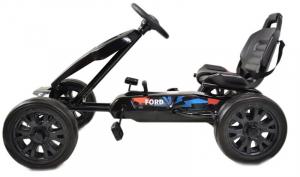 Kart Ford cu pedale pentru copii, roti cauciuc Eva3
