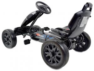 Kart Ford cu pedale pentru copii, roti cauciuc Eva4
