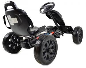 Kart Ford cu pedale pentru copii, roti cauciuc Eva5