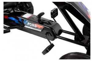 Kart Ford cu pedale pentru copii, roti cauciuc Eva6