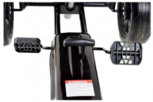 Kart Ford cu pedale pentru copii, roti cauciuc Eva9
