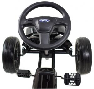 Kart Ford cu pedale pentru copii, roti cauciuc Eva10