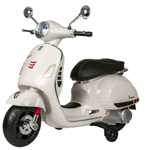 Scooter electric cu 2 roti Premier Vespa GTS Super, 12V, MP3, roti ajutatoare1