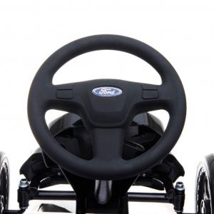 Kart Ford cu pedale pentru copii, roti cauciuc Eva11