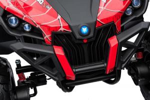 Buggy electric pentru 2 copii Premier 4x4 Superstar, MP4, cu 2 baterii, roti cauciuc EVA, scaun piele ecologica10