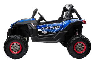 Buggy electric pentru 2 copii Premier 4x4 Superstar, cu 2 baterii, roti cauciuc EVA, scaun piele ecologica2