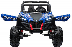 Buggy electric pentru 2 copii Premier 4x4 Superstar, cu 2 baterii, roti cauciuc EVA, scaun piele ecologica4