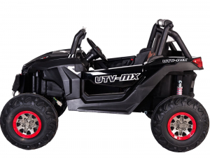 Buggy electric pentru 2 copii Premier 4x4 Superstar, cu 2 baterii, roti cauciuc EVA, scaun piele ecologica1