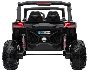 Buggy electric pentru 2 copii Premier 4x4 Superstar, cu 2 baterii, roti cauciuc EVA, scaun piele ecologica12