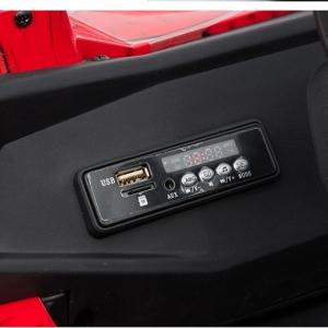 Buggy electric pentru 2 copii Premier 4x4 Superstar, cu 2 baterii, roti cauciuc EVA, scaun piele ecologica9