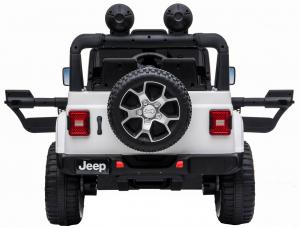 Masinuta electrica 4x4 Premier Jeep Wrangler Rubicon, 12V, roti cauciuc EVA, scaun piele ecologica4