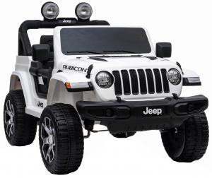 Masinuta electrica 4x4 Premier Jeep Wrangler Rubicon, 12V, roti cauciuc EVA, scaun piele ecologica8
