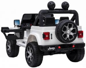 Masinuta electrica 4x4 Premier Jeep Wrangler Rubicon, 12V, roti cauciuc EVA, scaun piele ecologica11