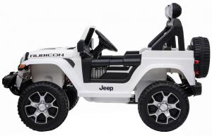 Masinuta electrica 4x4 Premier Jeep Wrangler Rubicon, 12V, roti cauciuc EVA, scaun piele ecologica12
